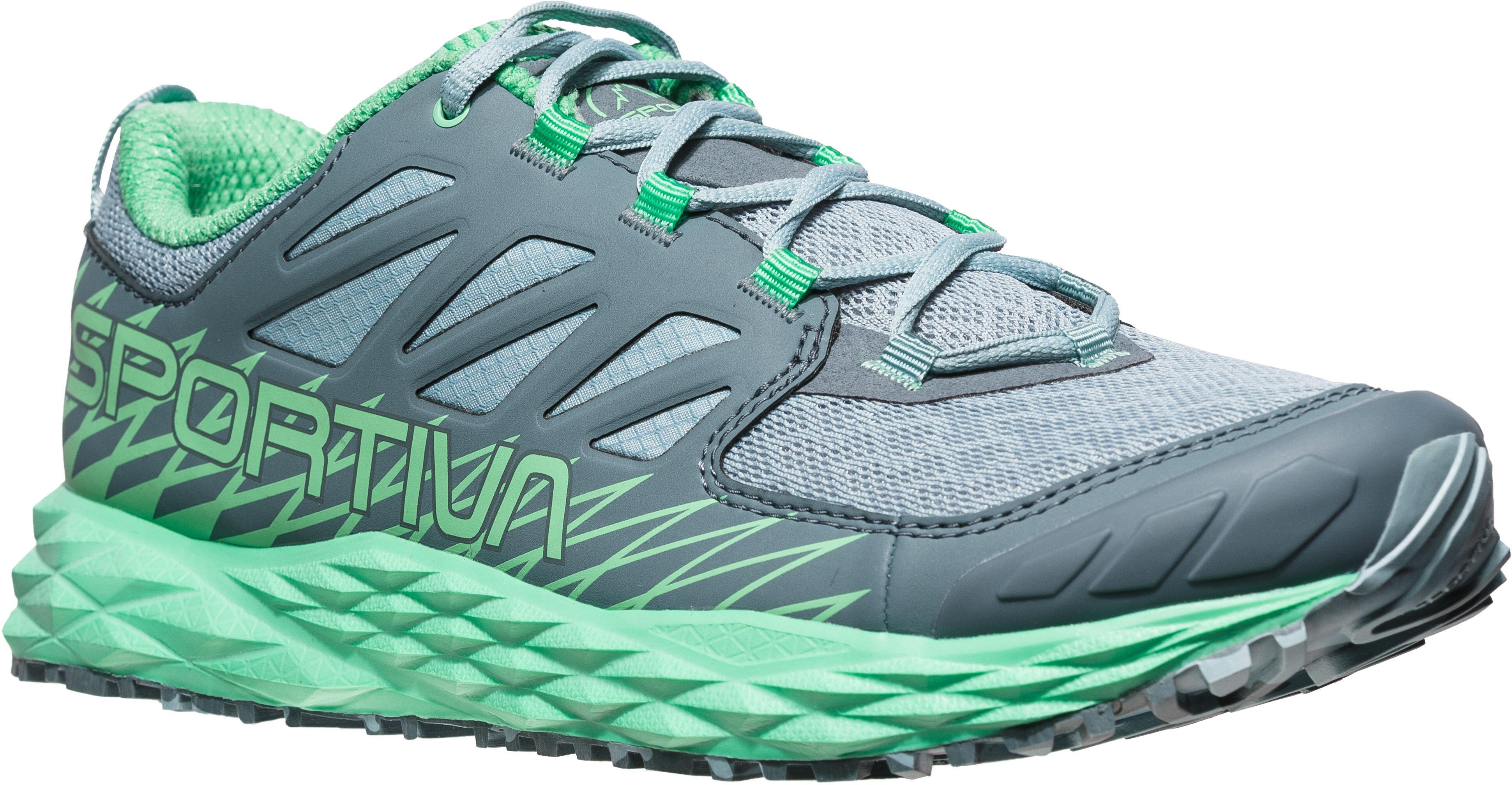 be0d50f55ce60 La Sportiva Lycan - Zapatillas running Mujer - gris Turquesa
